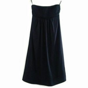 Banana Republic Silk Strapless Empire Waist Dress